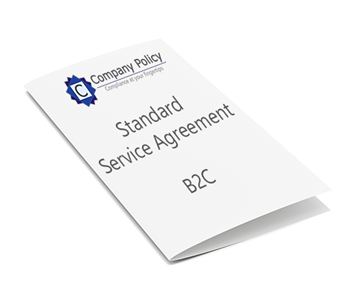 Picture of Standard Service Agreement - B2C