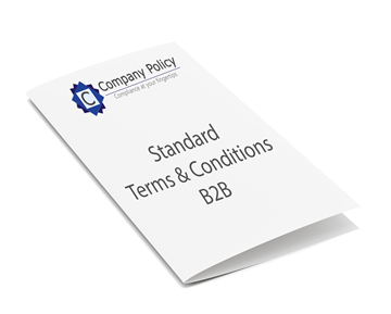 Picture of Standard Terms & Conditions - B2B