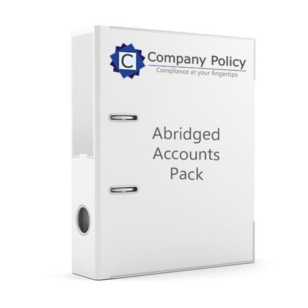 Picture of Abridged Accounts Business Compliance Pack
